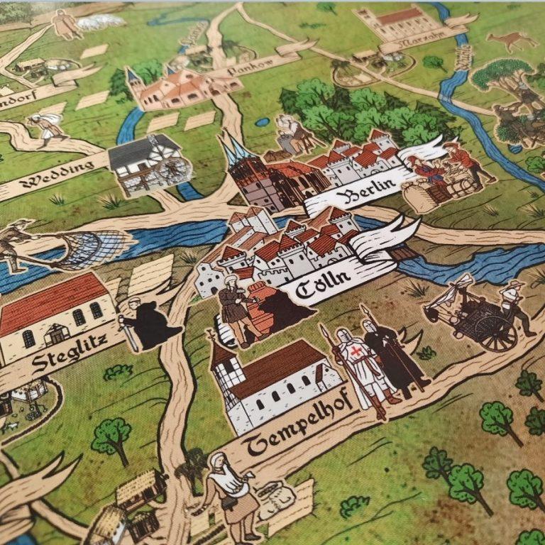 Kartenausschnitt der Mittelmark